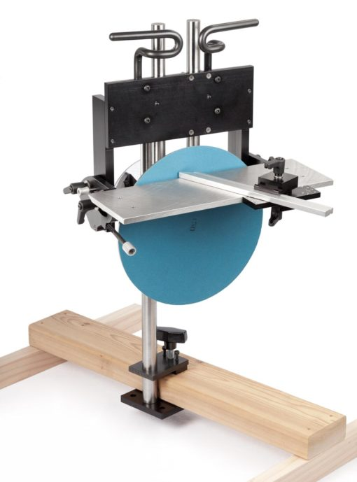 The Alberti Disc Sander - table up